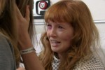 Stef Dawson, tears in eyes, gives an incredible performance as the troubled teen Raven Sutton.
