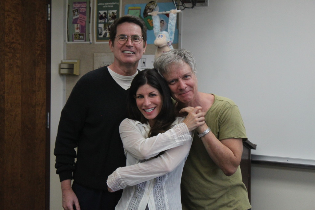 Dani Leon, pictured here with John McCafferty and Mark Pirro