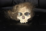 """Movie prop - part of the Delores skull from """"Polish Vampire in Burbank"""" (1983)"""