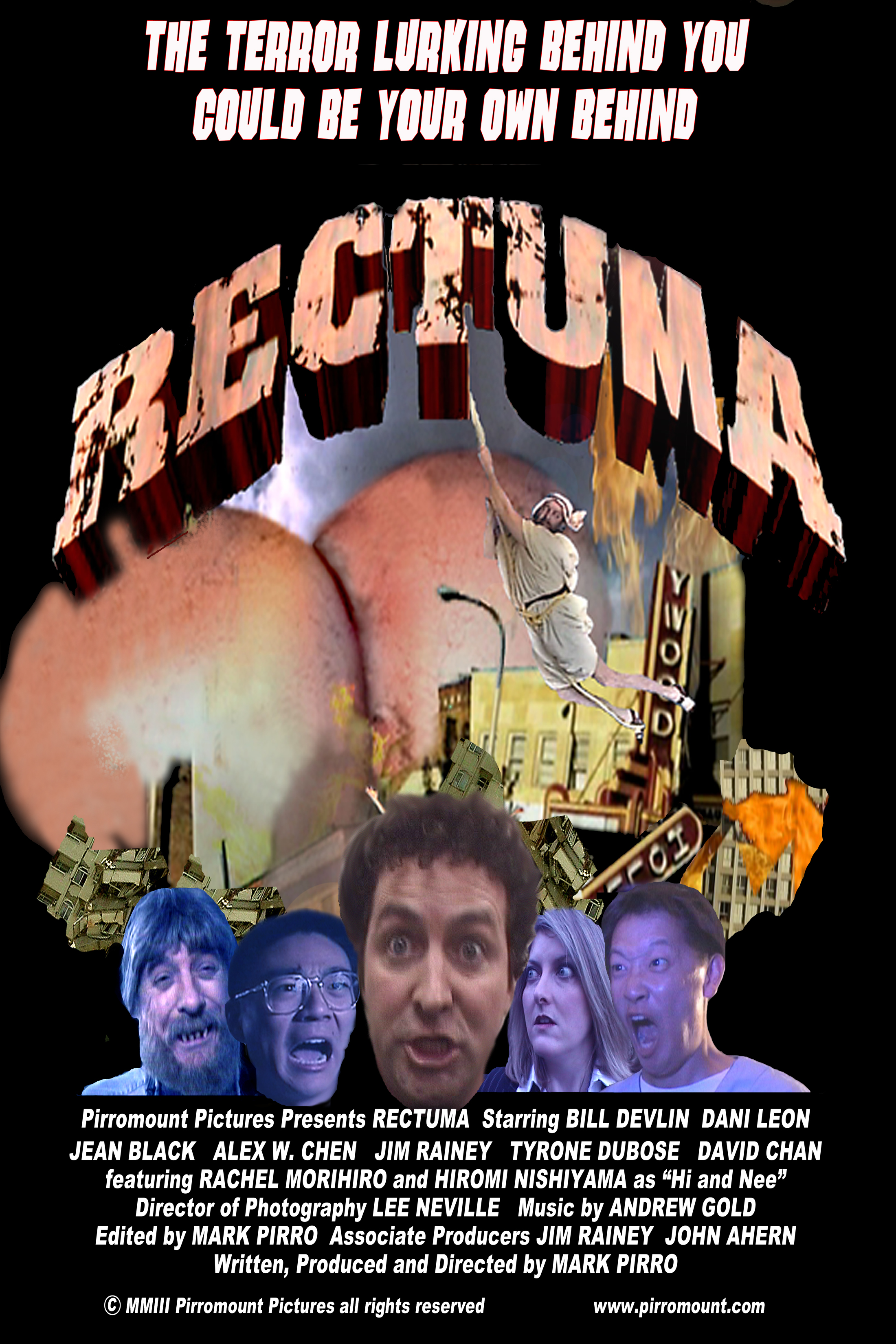 Rectuma (2003) approximately $1000 budget total