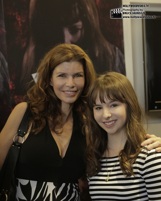 Tammy Klein as Louise Sutton (mother to the evil Raven) and Chelsea Cook as Sharon Marsden (an innocent pawn in Raven's corrupt world)