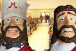 Pirromount's Mighty Mohahappy and Jesus tie the knot in a Pirromount fun video