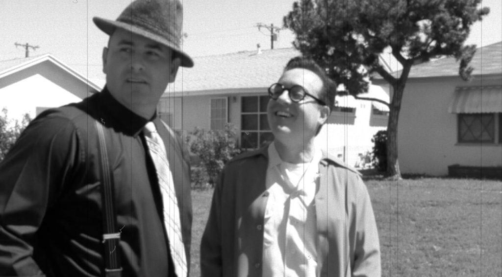 Paul Bunnell and Brandon Wainwright in a scene from Celluloid Soul.