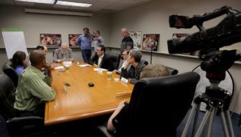 "Behind the scenes of Pirromount's commercial for ""Better Bakery Pretzel Melts."""